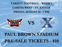 Varsity Football at Paul Brown Stadium - Week 1